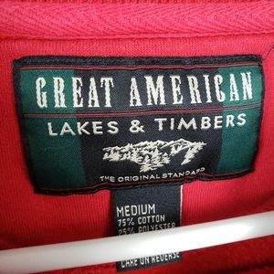 Great American Lakes & Timbers Tops - 5/$25 Bundles Great American Lakes & Timbers M